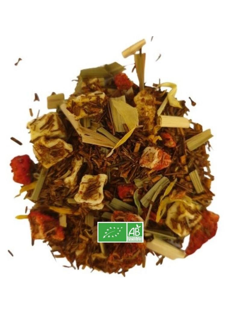 Mélange de rooïbos - Mangue/Fraise