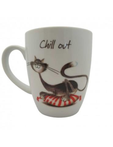 Mug Histoire de Chat - Chill Out