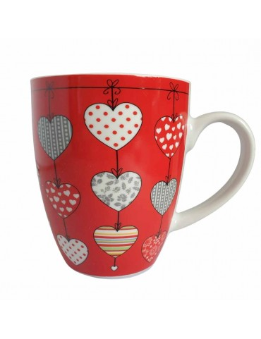 Mug Mon Coeur - Rouge